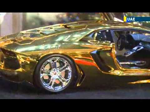 uae unveils worlds most expensive car gold and diamond