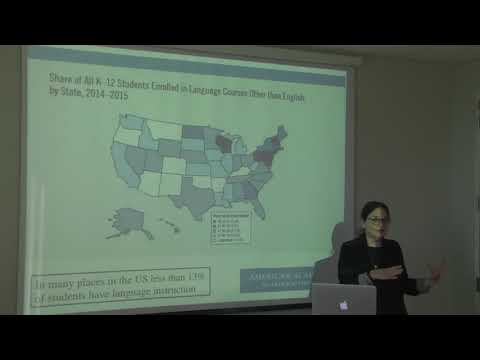 Language Learning in the USA - Judith Kroll for National Languages Networking