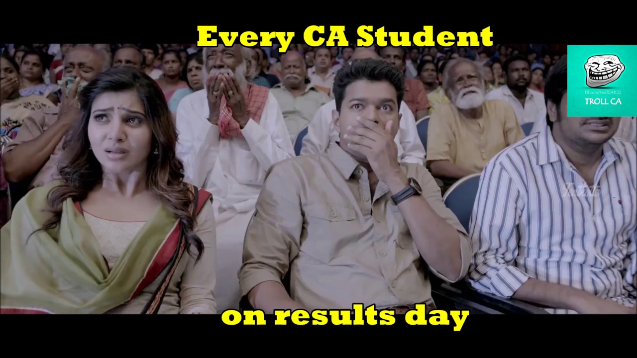Every Ca Student On Results Day Troll Ca Commerce Cafe Youtube