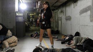 アイドルグループ「SUPER☆GiRLS」の浅川梨奈さんの主演映画「トウキョウ・リビング・デッド・アイドル」(熊谷祐紀監督、6月9日公開)の予告編が5月2日、公開された。