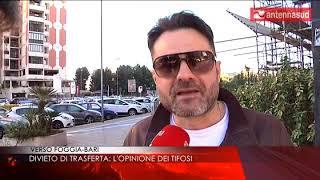 20 aprile Verso Foggia Bari divieto di trasferta: l'opinione dei tifosi