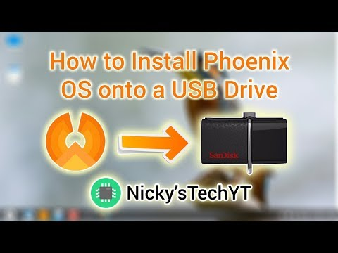 How to Install Phoenix OS onto a Flash Drive