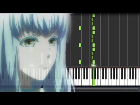 Norn9 [ノルン+ノネット] OST - Aion's Song : Nemuri no Kuni (PIano Synthesia Tutorial + Sheet)