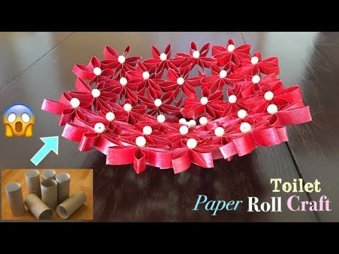 Toilet Paper Roll Craft DIY | Best out of Waste Craft