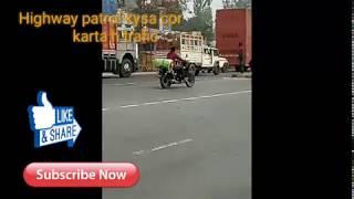Accident at Gorakhpur Lucknow highway Highway Patrol