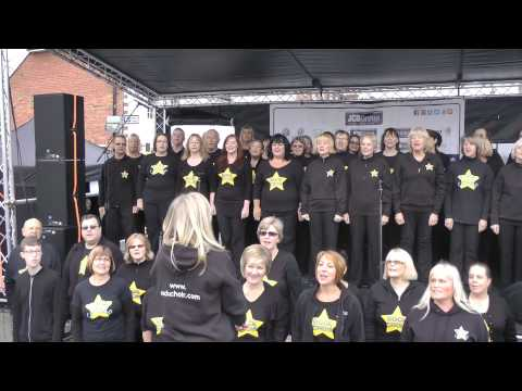 Katie Hockley's Kings Hill Rockies and Friends at West Malling Christmas Lights Nov '14