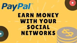 EARN MONEY WITH SOCIAL NETWORKS