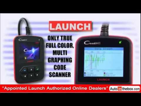 Original Launch Creader VI OBDII / EOBD Auto Code Reader WIth Color Screen Free shipping Photo Show