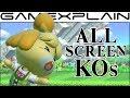 Super Smash Bros Ultimate: All Screen KOs