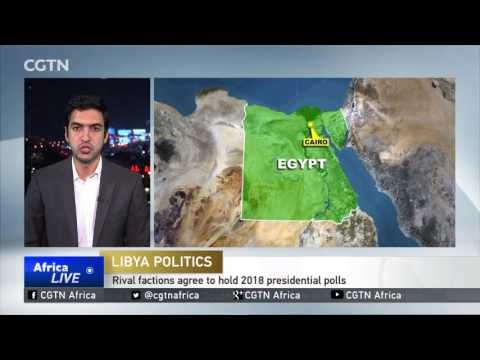 Libya rivals agree to 2018 polls despite not meeting