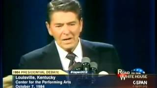 "Ronald Reagan: ""Social Security has nothing to do with the deficit."""