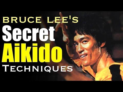Bruce Lee's Secret Aikido Techniques