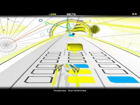 Let´s Audiosurf 8 Bit Tunes #02 [HD] -Pornophonique / Rock´n roll Hall of fame - mp3