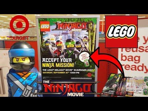 FREE LEGO STUFF!! NINJAGO SCAVENGER HUNT AT TARGET!! Ethan Becomes ...