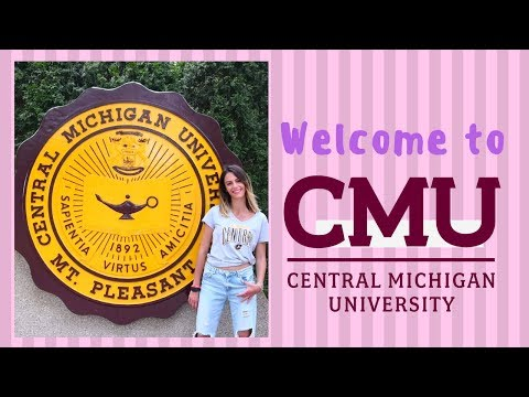 Welcome to Central Michigan University! #FireUpChips