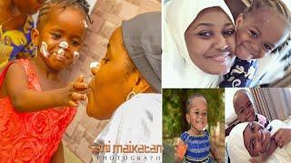 Jaruma Hadiza Gabon tana birthday din yarta Maryam ta cika shekara Biyar