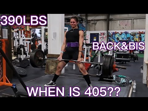 390LBS DEADLIFT | WHEN IS 405?!?!