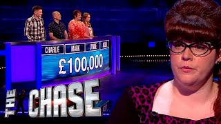 The Chase | Nail Biting Full House Final Chase for £100,000 With The Vixen!