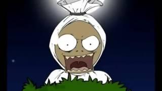 Animasi Hantu Pocong Lucu Banget