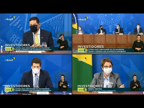AFP Português: Investidores internacionais pedem resultados contra desmatamento, afirma Mourão | AFP