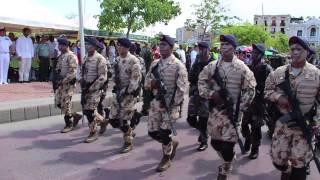 Desfile Cívico Militar. 202 años de Independencia de Cartagena