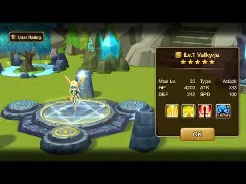 Summoners War Sky Arena Wind Valkyrja Runes Youtube