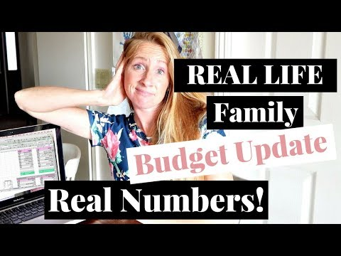 REAL LIFE Family Finance Budget Breakdown | August 2017 Budget Update