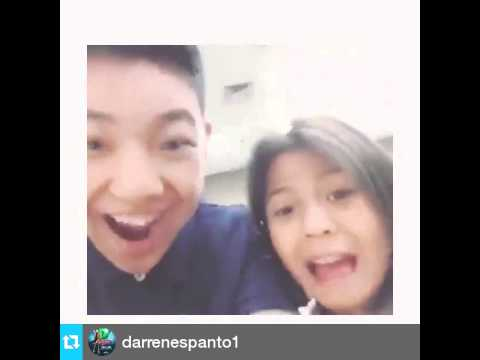 dubsmashdarren espanto and lyca gairanod part1 youtube