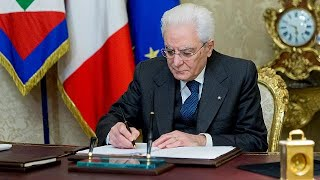 From youtube.com: Italy dissolves parliament for March 4 election