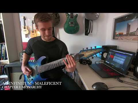 AD INFINITUM - Maleficent (Guitar Playthrough) | Napalm Records