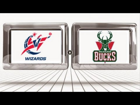 Milwaukee Bucks vs Washington Wizards highlights