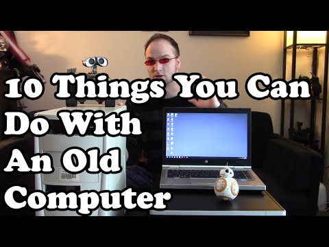 💻 10 things you can do with an old computer