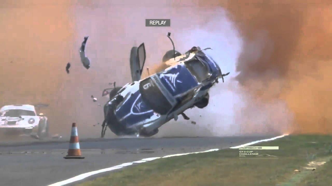 Pedro Piquet Accident Porsche Cup Slow Motion & Onboard | Doovi