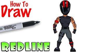 How to Draw Redline | Fortnite