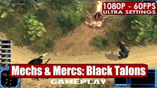Mechs and Mercs: Black Talons gameplay PC HD [1080p/60fps]