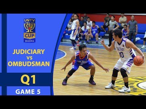UNTV Cup 6: Judiciary Magis vs. Ombudsman Graft Busters - Q1
