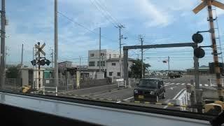 【側面展望】JR四国2000系 特急しまんと5号 高松→高知