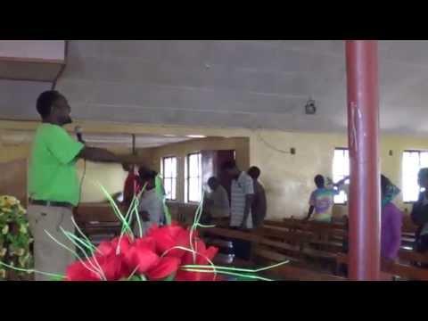 Evangelist Wako offering spiritual warfare prayer (July 19