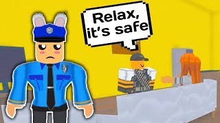 TROLLING ODERS AS POLICE OFFICER MIT ADMIN COMMANDS / / Roblox Admin Command Trolling