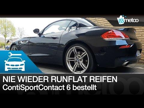 Nie wieder Runflat Reifen | Runflat ja oder nein | BMW Z4 35i Continental ContiSportContact 6