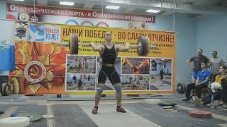 Финал кубка Ижевска по тяжелой атлетике 07.10.2017