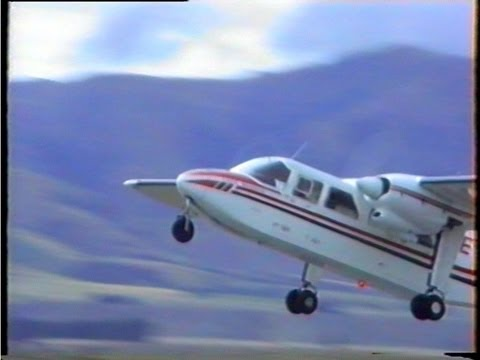 Britten Norman Islander Display New Zealand 1996