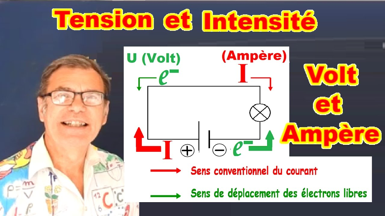 Tension et intensit lectrique diff rence entre volt amp re youtube - Difference entre pyrolyse et catalyse ...