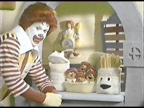 1989 Mcdonald S Commercial With Mcnugget Buddies Youtube