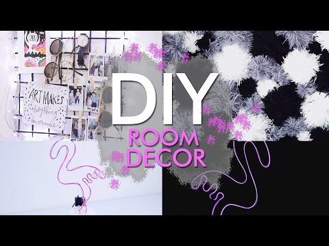 DIY TUMBLR ROOM DECOR 2017 ❤ // nabilazirus