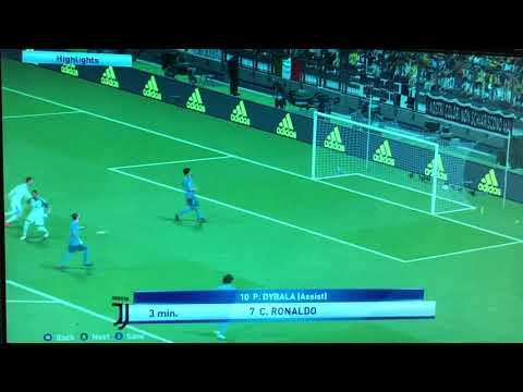 Ronaldo Khoác áo Juventus Ghi Bàn Vào Lưới Real Madrid