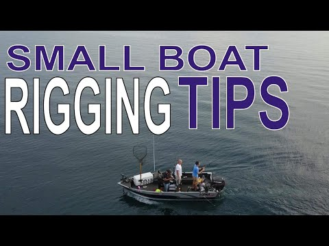 Lake Michigan Salmon Fishing In A Small Boat Adventure III