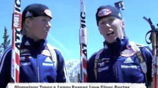Olympian Twins Swear By Sinus Buster Nasal Spray