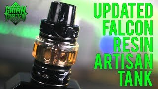 Falcon Resin Artisan Tank : Wood Pulp makes it better!