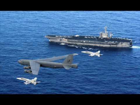B-52 roam around the world